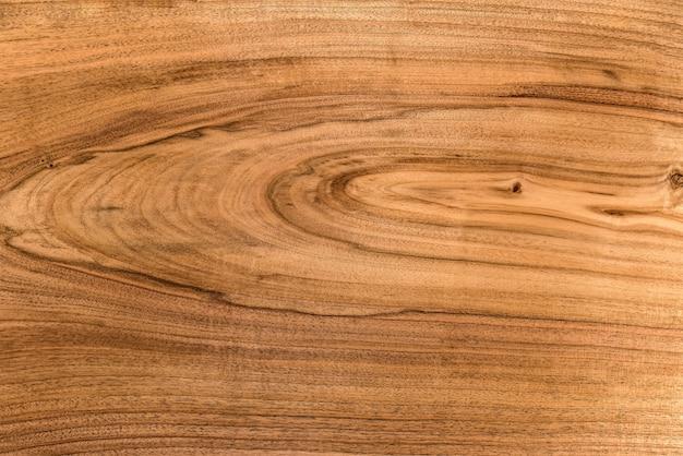 クルミ材の装飾的な家具の表面の背景と質感