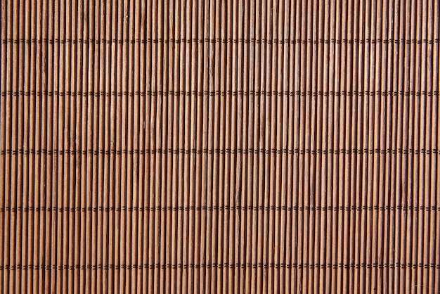 Background of a bamboo napkin close-up.