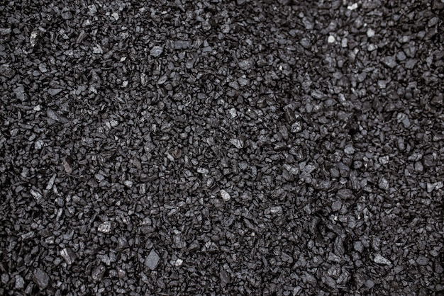 Background of black coal.
