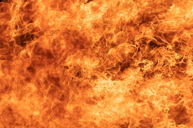 Background of blaze fire flame texture