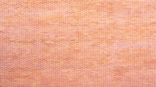 Background of bricks glued to the wall with cement, texture to create empty designs