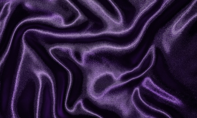 Background by purple fabric, wallpaper texture waving by textile purple.
