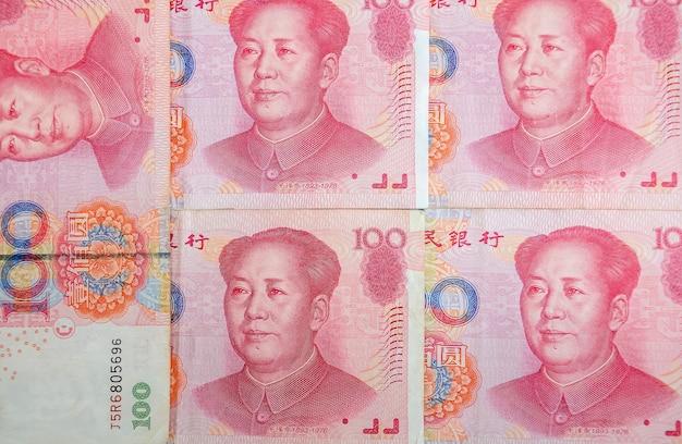 Фон китайский юань деньги текстура финансовый фон