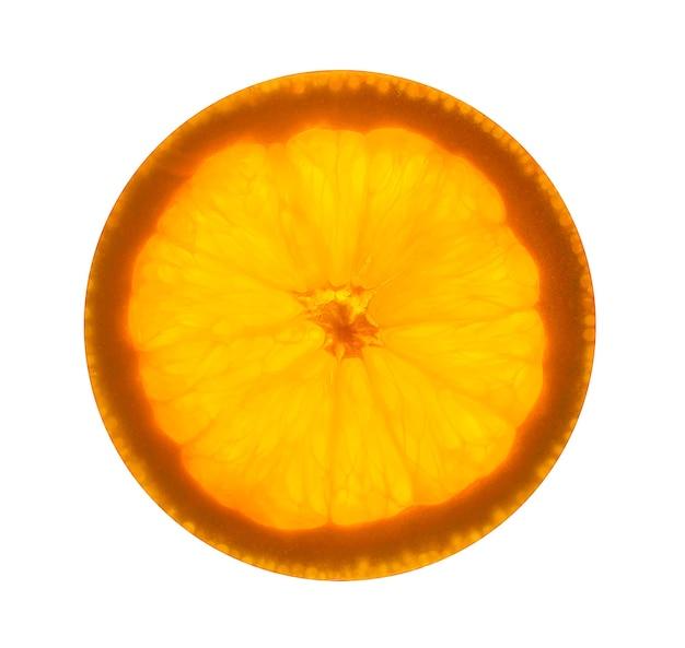 背景の柑橘系の果物