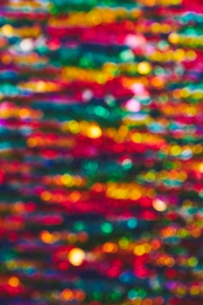 Background of colorful bokeh lights