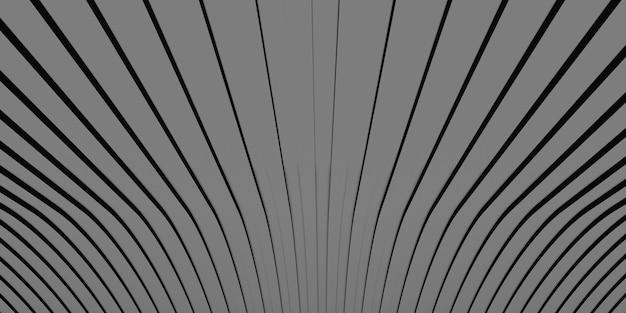 Фон изогнутая линия сцены 3d иллюстрация
