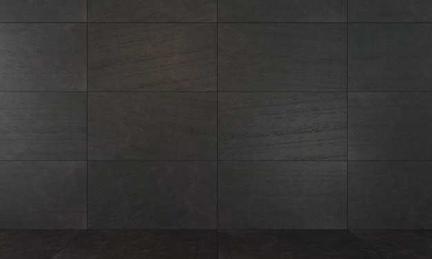 Background of dark decorative concrete slabs.