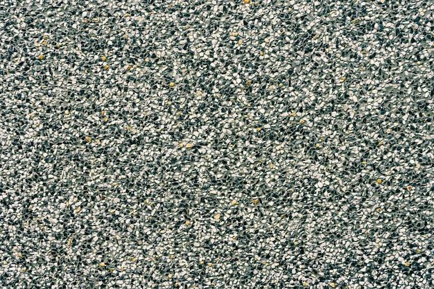 Background of decoration black and white terrazzo floor