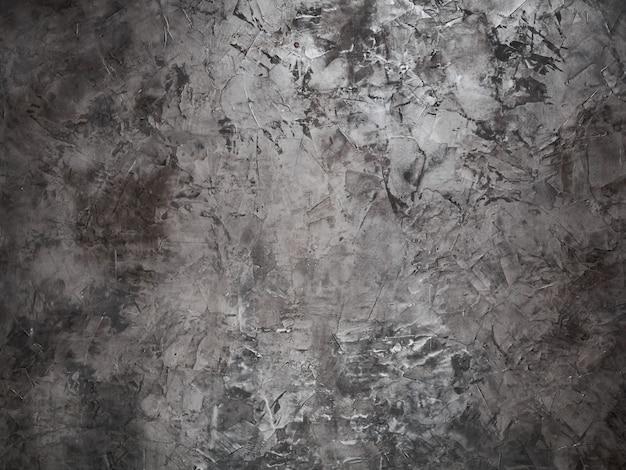 배경-밝고 어두운 점과 얼룩이있는 양각 된 회색 벽, 하이라이트 포함
