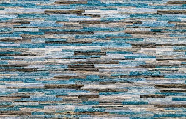 異なる色調の青と茶色のデザインの背景