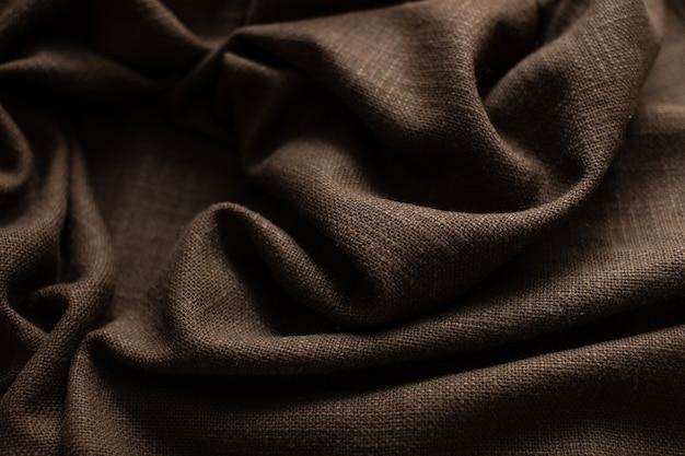 Фон из коричневого льна