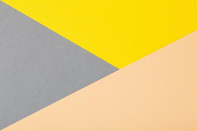 段ボールの上面図の色付きシートからの背景