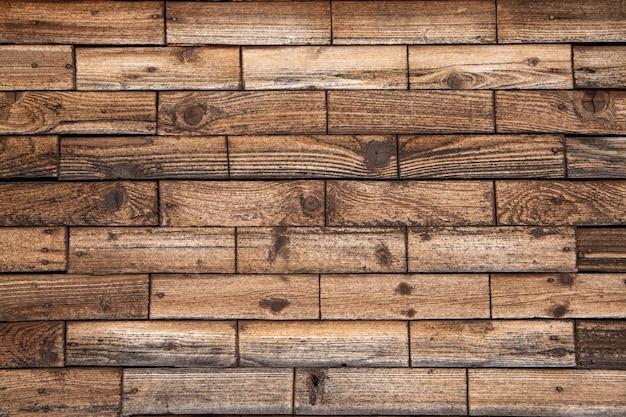 Фон из горизонтальных досок, текстура древесины с копией пространства.