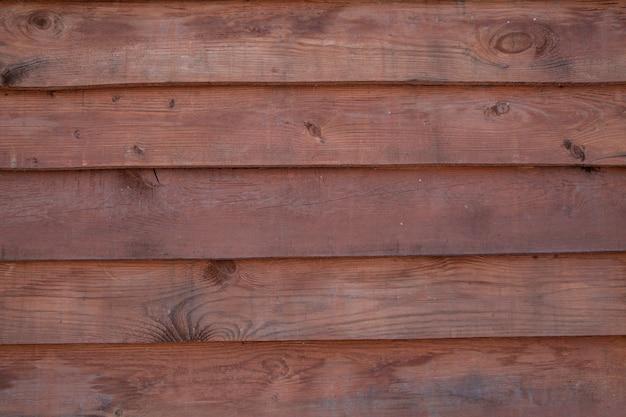 Фон из горизонтально расположенных деревянных досок. текстура древесины