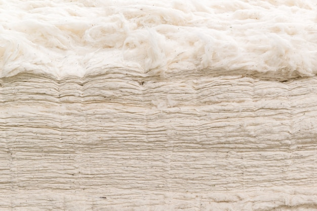Background from the raw cotton fiber