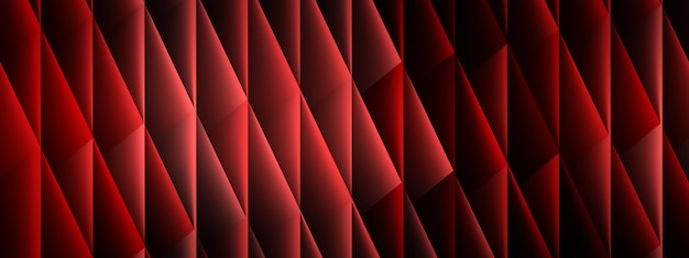 Background from rhombuses, geometric shapes, 3d render, panoramic image