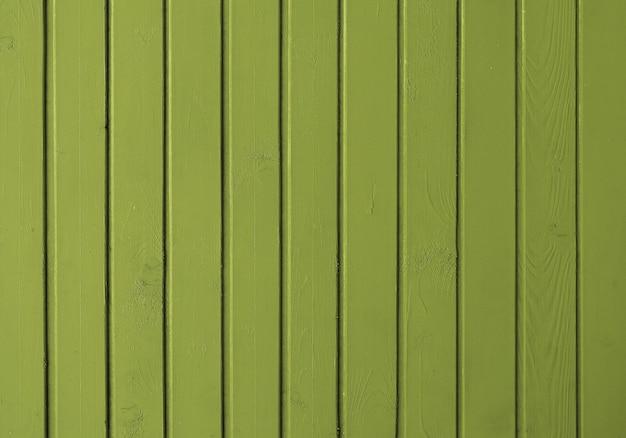 Фон из досок, окрашенных зеленой краской