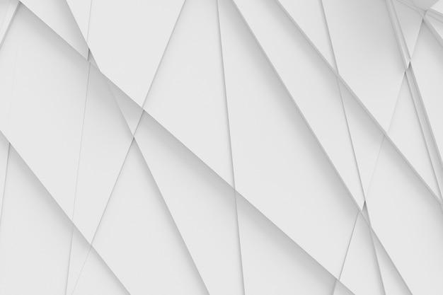 그림자 3d 그림을 주조하는 여러 다각형으로 잘린 표면의 배경