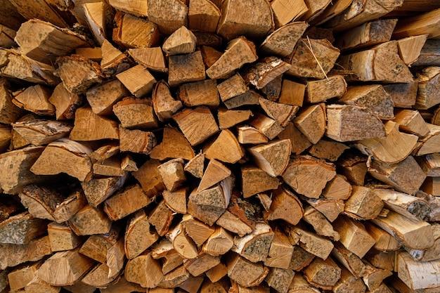 Фон из деревянных бревен текстуры древесины