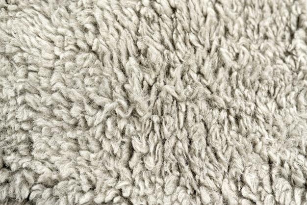 Фон из шерстяной ткани сплошного серого цвета заготовка для дизайна