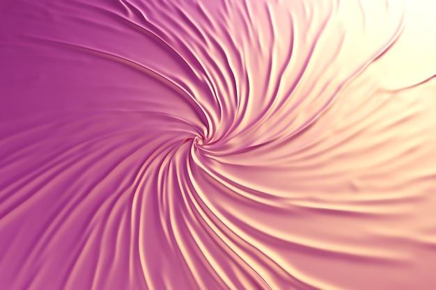 Background funky wrinkled chic glitter metallic fabric