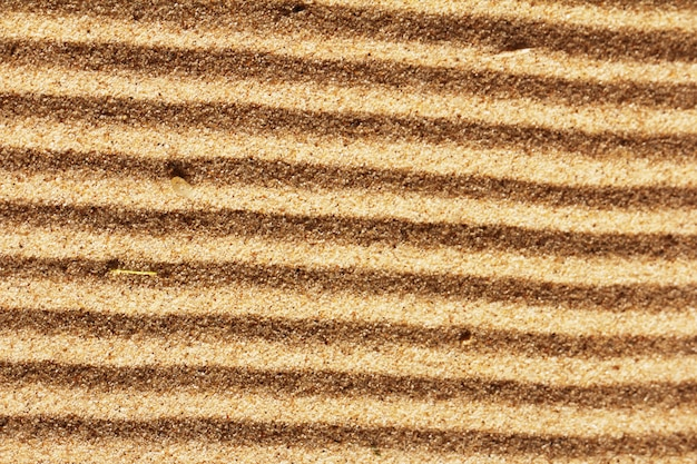 Background of golden sand