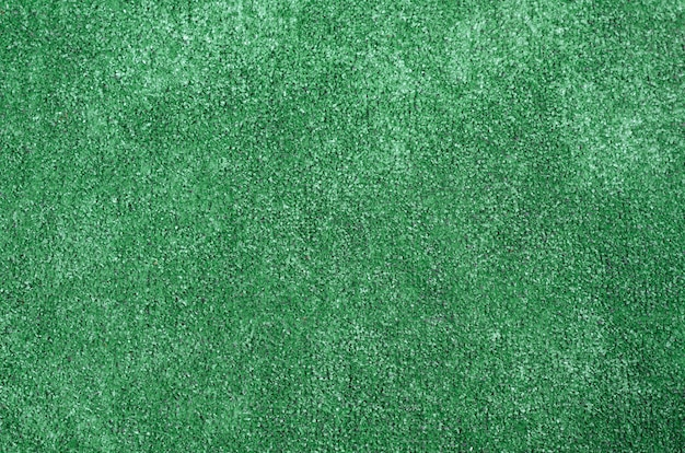 Background of green artificial grass