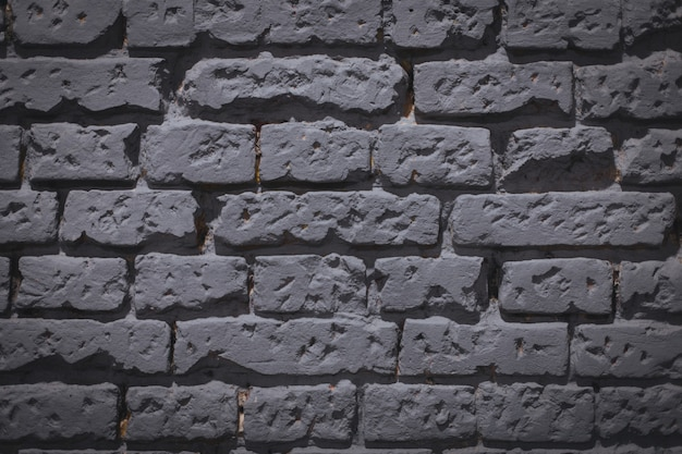 Background of a grey brick wall - great for a cool or wallpaper