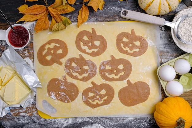 Фон в стиле праздника хэллоуин