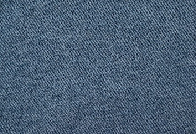 The background is made of a bright textured denim blue fabric. popular fabric.