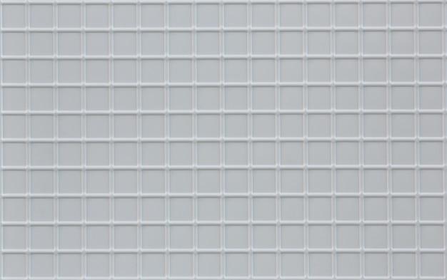 Background of kitchen white ceramic smooth mosaic tiles