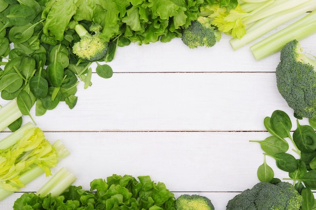 Background made of vegetables, healthy food concept