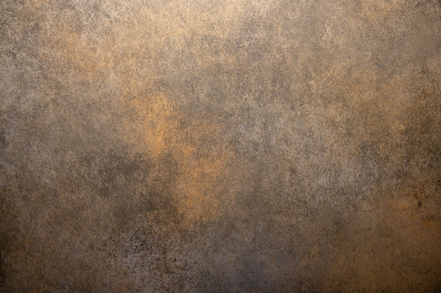 Background made of wood with imitation of rust. horizontal orientation