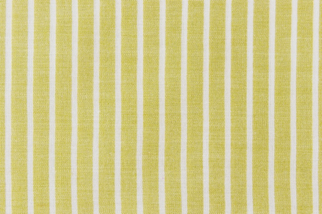 Background of natural linen striped fabric