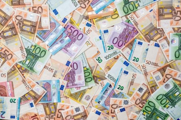Dwsing에 대한 모든 유로 지폐의 배경