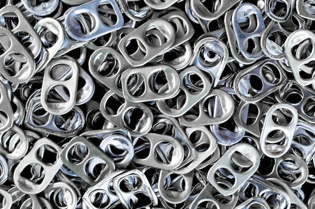 알루미늄 캡의 배경은 보철 다리를 만드는 데 사용할 수 있습니다