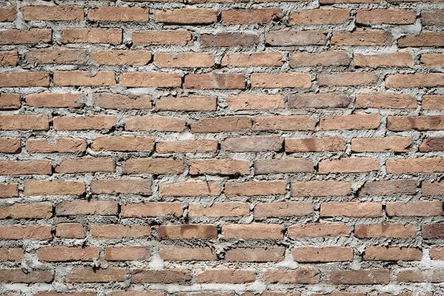 レンガの壁のテクスチャの背景。