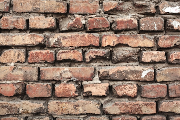 カラフルなれんが造りの壁テクスチャの背景。レンガ造り。