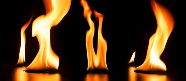 Фон опасного пламени