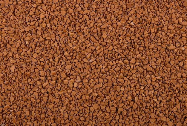 Фон из сублимированных гранул растворимого кофе