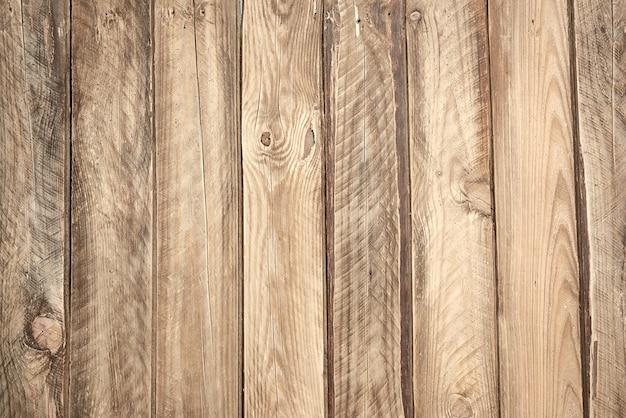 Фон из серых деревянных досок с трещинами