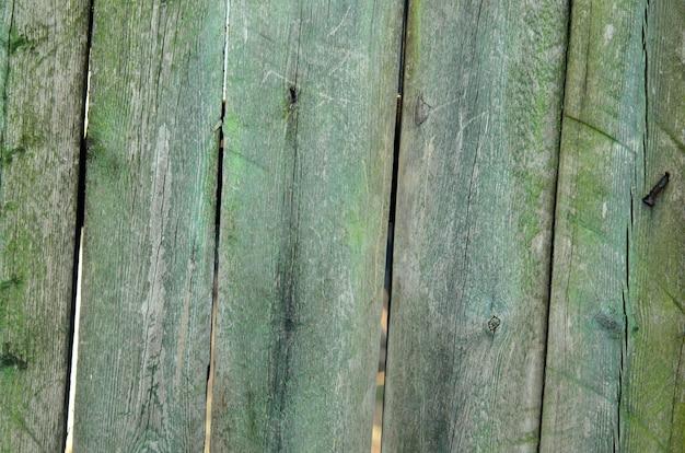 녹색 목재의 배경입니다.