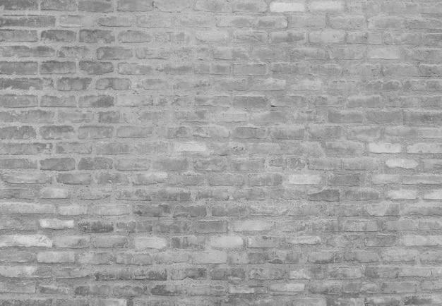 グランジレンガの壁の背景 無料写真