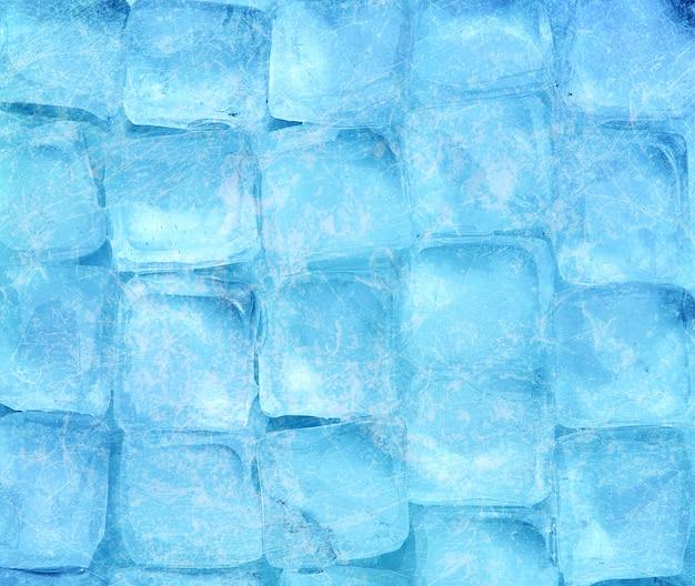 Фон из кубиков льда