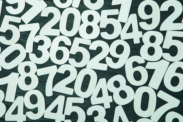 숫자의 배경 또는 숫자와 함께 완벽 한 패턴