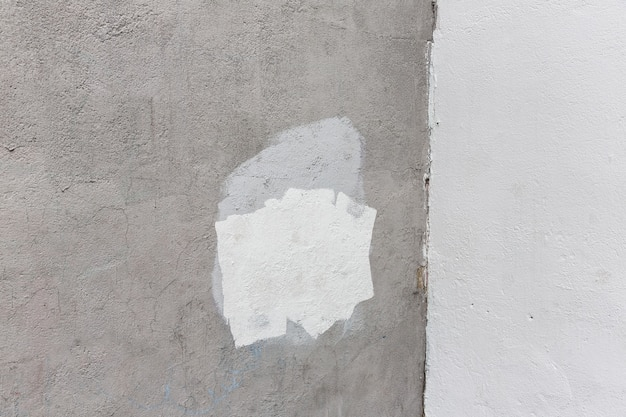 Предпосылка старой серой покрашенной стены. возрасте уличные стены фон, текстуры.
