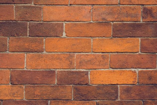 Предпосылка текстуры картины красной кирпичной стены.