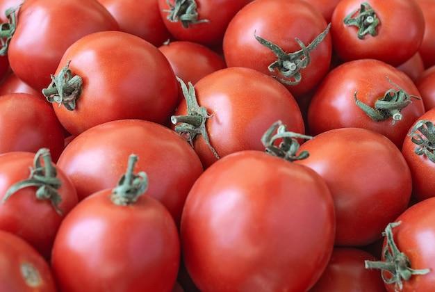 完熟トマトの背景農産物・食品