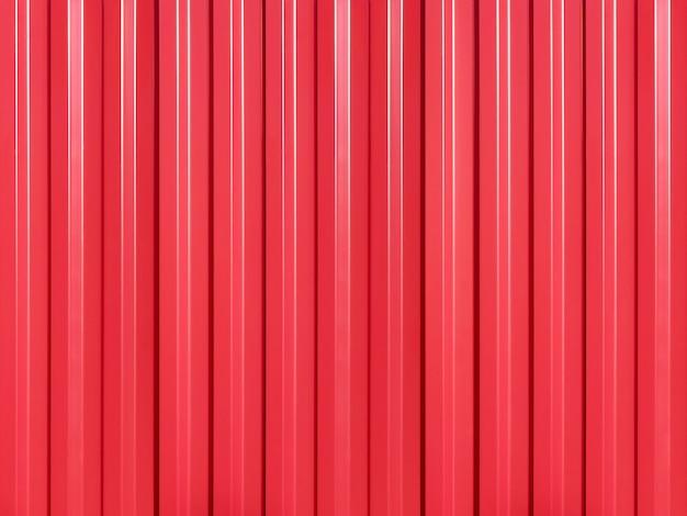 빨간 페인트로 덮인 루핑 철의 배경