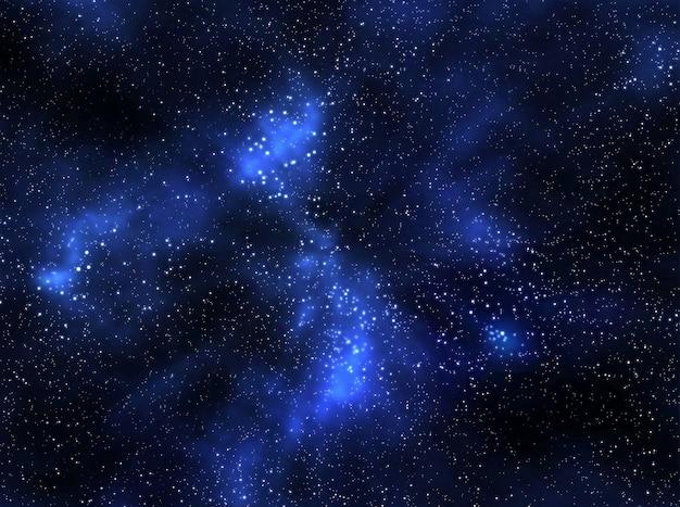 星のある空間の背景